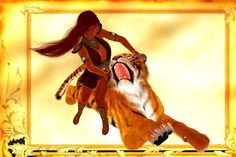 Phoenix Boudicca wrestling tiger Phoenix and her longtime childhood friend Mousebreath would wrestle when they got bored. Phoenix cheated because she always pulled Mousebreath's ears until he...