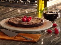 Voltaggio Brothers Chocolate Marble Cheesecake : Recipes : Cooking Channel
