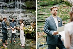 Magical Tennessee Waterfall Elopement: Amanda + Michael | Green Wedding Shoes Wedding Blog | Wedding Trends for Stylish + Creative Brides