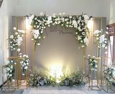 Wedding Backdrop Design, Wedding Stage Design, Wedding Reception Backdrop, Wedding Stage Decorations, Engagement Decorations, Backdrop Decorations, Head Table Wedding, Wedding Wall, Diy Wedding Gifts