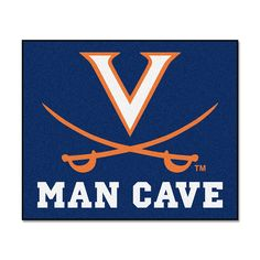Virginia Cavaliers NCAA Man Cave Tailgater Floor Mat (60in x 72in)