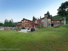 This is John Denver's Rocky mountain high Estate I'm going to buy some day Come visit