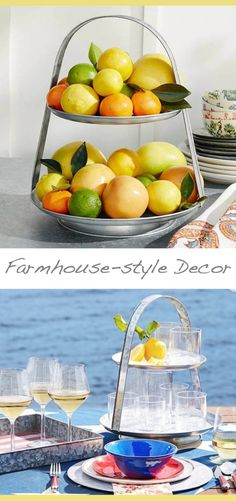 Rustic/farmhouse ideas for your Kitchen. Perfect for casual entertainment indoors or out, galvanized metal is supremely functional and has a stylish rustic character. This serve stand holds everything from utensils and napkins to limes and beverages. #homedecor #ideas #ad #cheap #kitchendesign #rustic #farmhouse #decor #interior #design #house #love #beautiful #entertainment #budget #sale