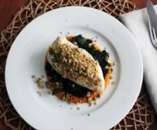 Recipe Chicken, pumpkin and crunchy museli by Scott O'Sullivan - Recipe of category Main dishes - meat