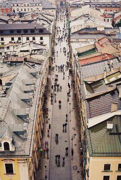 Old Town Krakow, Poland/ Unesco Word Heritage List                              …