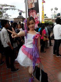 Myself cosplay SKE48 Aishiteraburu