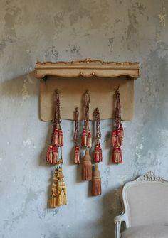 vintage tassels