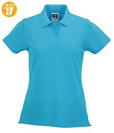 Russell-Poloshirts & Tops-Damen classic cotton polo Shirt (*Partner-Link)