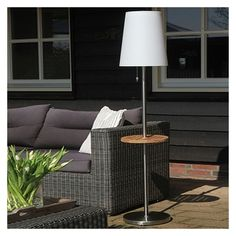 Roots No.4 LED Solar Floor Lamp