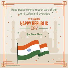 India Republic Day Wishes With Name