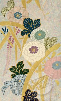 Traditional Japanese fabric designs