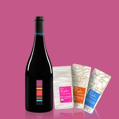 We paired up our velvety 2013 Grenache with three of our favorite Raaka Chocolate bars. These pure, unadulterated chocolate flavors are sure to send you into a rapturous galaxy of coco bliss #DrinkUproot - http://on.shopspring.com/bhwug-1