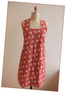 """Link for free pattern for """"magic"""" slip-over apron - WeAllSew"""