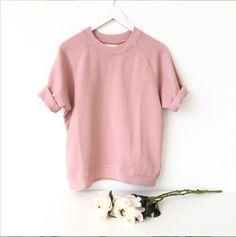 Cara Shortsleeve http://shopsincerelyjules.com/collections/shop/products/cara-short-sleeve-sweatshirt-rose