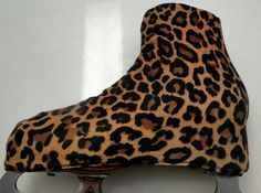 Leopard Cheetah Skate Boot Covers / Figure by Sk8Gr8Designs
