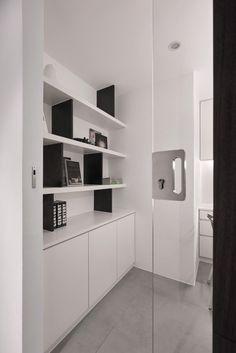 A Simple Apartment with a Clean Color Palette – Design Milk