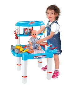 This Baby Doctor Visit Play Set is perfect! #zulilyfinds