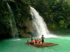 Kawasan Falls Badian, Cebu  Philippines