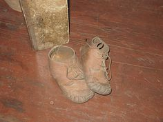 Sweet little baby moccasins..................