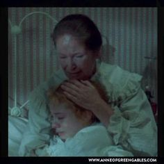 "MARILLA: ""I know I've been strict with you. I don't know what I'd do if you'd never come. But you mustn't think that I don't love you as much as Matthew did. It's never been easy for me to say the things from my heart… but you're like my own flesh and blood now."""