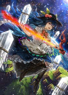 touhou Part 247 - - Anime Image Manga Girl, Anime Art Girl, Manga Anime, Anime Girls, Anime Fantasy, Fantasy Art, Pixiv Fantasia, Image Manga, Beautiful Anime Girl