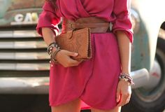 great colour combo! Love the belt!!!!