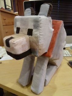 My stuffed Wolf! - Images - Fan Art - Show Your Creation - Minecraft Forum - Minecraft Forum