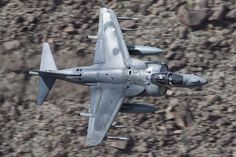 This Wild Photo Shows Warped Air Getting Gulped Into A Harrier's Engine
