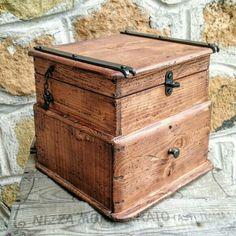 Rewclaimed wood box....100% handmade in Italy....DOREALI STUDIO ROMA design