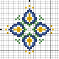 Free cross stitch pattern from https://www.etsy.com/shop/LaMariaCha You can use any colors of strands and fabric