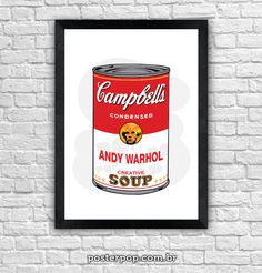 Poster Andy Warhol Creative Soup