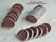 Hungarian Desserts, Hungarian Recipes, No Bake Desserts, Dessert Recipes, Candy Cookies, Healthy Cake, Polish Recipes, Christmas Baking, Cookie Recipes