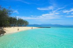 Green Island, Cairns Australia-had to visit this island daily when I worked on the tour boats out of Cairns that would stop of here for an hour before heading on out to the outer Great Barrier Reef