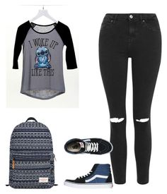 """""""Look Hannah School 2"""" by juh-styles-334 on Polyvore featuring beleza, dELiA*s, Topshop, Vans e Mr.ace Homme"""