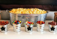 Indoor Movie Night With Popcorn Ideas | Happily Hughes
