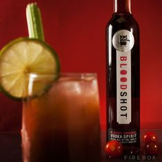 Blood Shot Vodka: The World's First Bloody Mary Liqueur