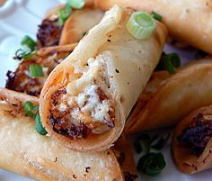 Chicken, Bacon,  Cream Cheese Taquitos... Happy Hour Appetizer 47   Hampton Roads Happy Hour - 1