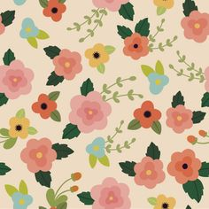 Refresh your living space with this charming flower-patterned wallpaper. Offering a modern spin on classic floral patterning, this New Orchard…