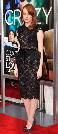 Emma Stone's Best Red Carpet Moments — Vogue