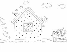 Bogyó és Babóca mézeskalácsos rajz, coloring page, színező