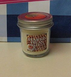 Bath and Body Works PUMPKIN PECAN WAFFLES Small Mini Candle 13 OZ