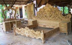 Living Room Partition Design, Room Partition Designs, Bed Furniture, Furniture Design, Single Main Door Designs, Wood Sleigh Bed, Wood Bed Design, Wood Carving Designs, Handmade Furniture