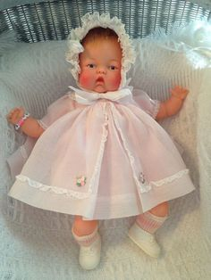 Beautiful Vintage Ideal Ott 19 Thumbelina Doll Vintage
