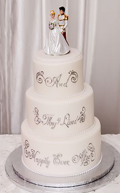 White princess wedding cake ideas #whiteweddingcake
