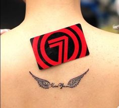 Image result for small angel wing tattoo