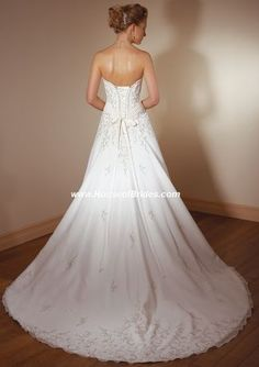 Wedding dress Mori lee 2105 back of my wedding dress can't believe I found it on here