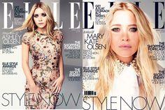Mary-Kate & Ashley Olsen on the cover of Elle UK