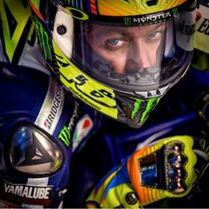 Valentino Rossi looking mean ready for 2015