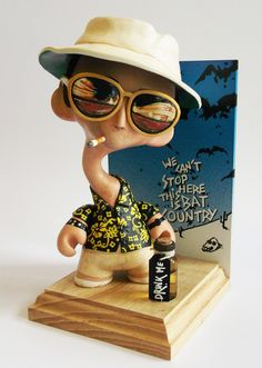 Bat Country | Custom Mini Munny by Adam Whitnall