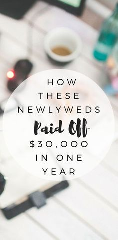 Struggling to pay off your debt? Burdened by your financial situation? Here is how these newlyweds paid off $30,000 in one year!